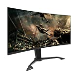 VIOTEK GN35DA 35-Inch Curved Ultrawide Gaming Monitor | 144Hz (200Hz...