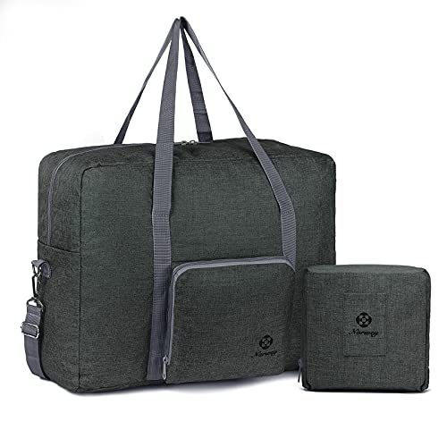 For Airlines Foldable Travel Duffle Bag Tote Carry on Luggage by...