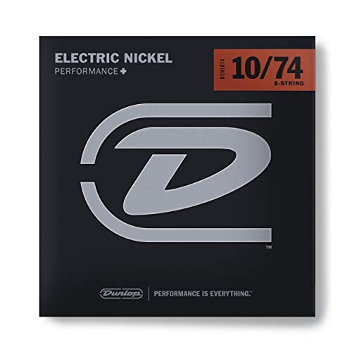 Dunlop DEN1074 Nickel Wound Electric Guitar Strings, Medium,...