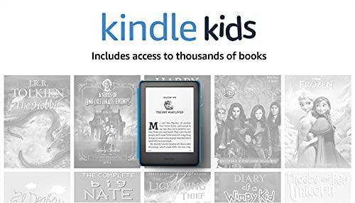 Kindle Kids, a Kindle designed for kids, with parental controls - Blue...