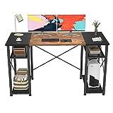 Foxemart Computer Desk 47' Office Desk with Storage Shelves,...