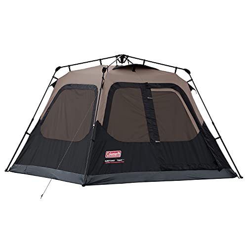 Coleman Cabin Tent with Instant Setup | Cabin Tent for Camping Sets Up...