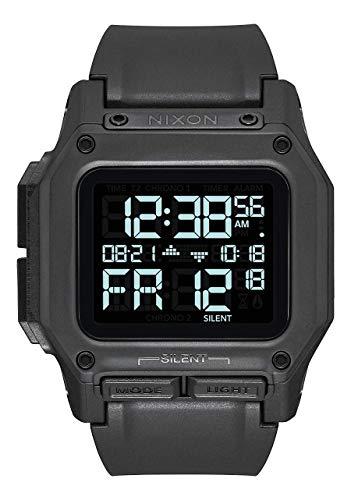 NIXON Regulus A1180 - All Black - 100m Water Resistant Men's Digital...