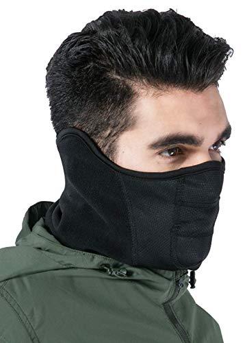 Winter Face Mask & Neck Gaiter - Cold Weather Half Balaclava -...