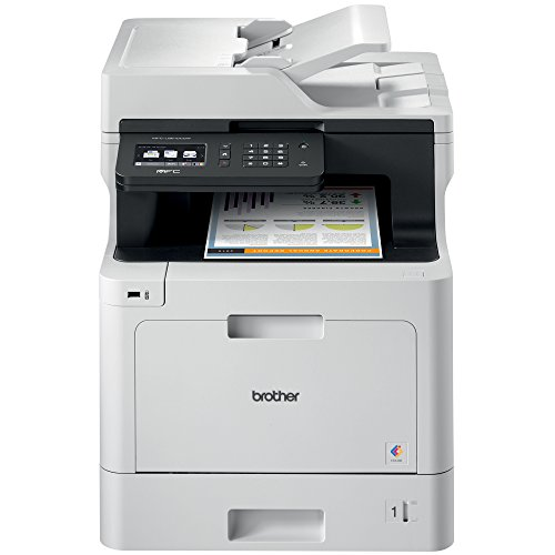 Brother Color Laser Printer, Multifunction Printer, All-in-One...