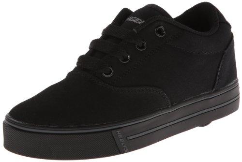 Heelys unisex-child Launch Skate Shoe, Grey/Black, 2 M US Little Kid