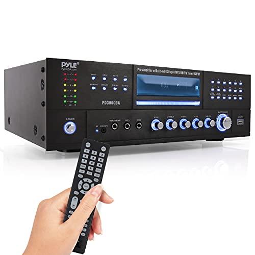 Pyle 4 Channel Wireless Bluetooth Amplifier - 3000 Watt Stereo Speaker...
