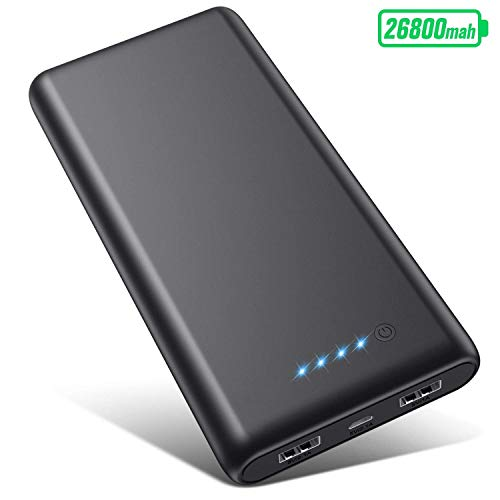Portable Charger Power Bank 26800mah, Ultra-High Capacity Safer...