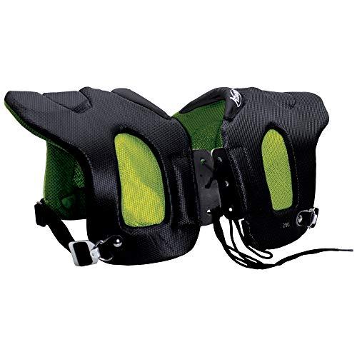 ADAMS USA 29 Fabric Covered Shoulder Injury Pad Black/Neon Green,...