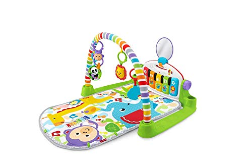 Fisher-Price FWT18 Deluxe Kick and Play Piano Gym, Multi-Colour