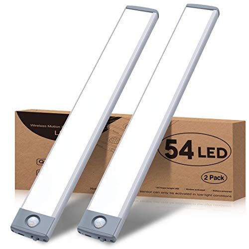 Motion Sensor Closet Light 54 LED Under Cabinet Night Lighting,...