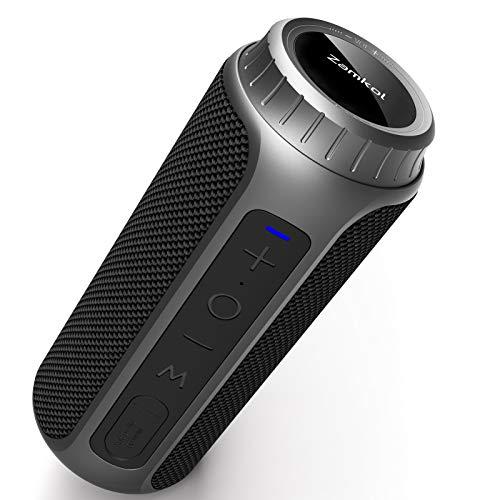 Zamkol Bluetooth Speaker Portable 30W Waterproof Wireless Speakers...
