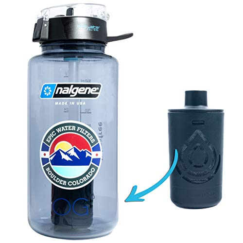 Epic Nalgene OG | Water Bottle with Filter | USA Made Bottle and...