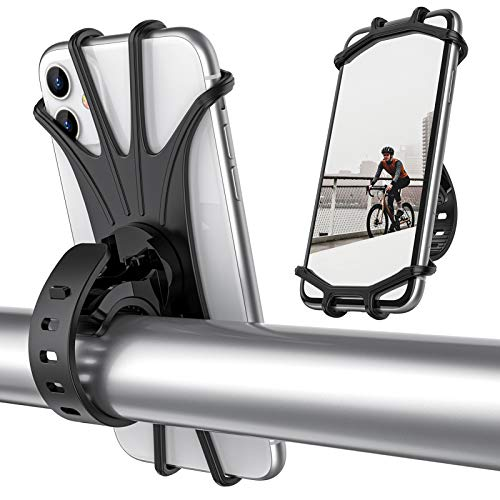 ORIbox Bike Phone Mount, Motorcycle Handlebar Mount, 360° Rotation...