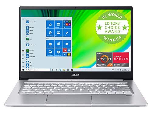 Acer Swift 3 Thin & Light Laptop, 14' Full HD IPS, AMD Ryzen 7 4700U...