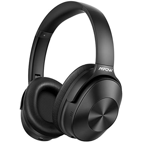 Hybrid Noise Cancelling Headphones, Mpow H12 Bluetooth Headphones Over...