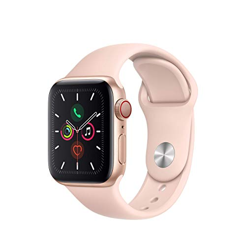 Apple Watch Series 5 (GPS + Cellular, 40MM) - Gold Aluminum Case with...