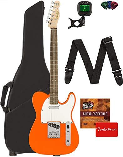 Fender Squier Affinity Telecaster - Competition Orange Bundle with Gig...