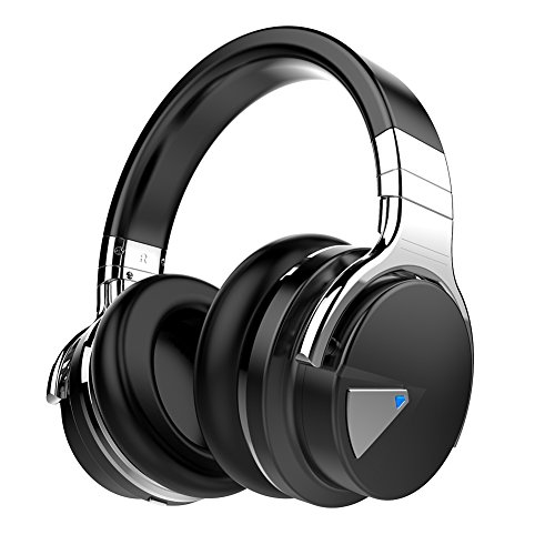 COWIN E7 Wireless Bluetooth Headphones with Mic Deep Bass Wireless...