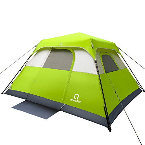 OT QOMOTOP Tents, 6 Person 60 Sec Set Up Camping Tent, Waterproof Pop...
