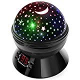 Night Lights for Kids, Multicolor Star Projector with Timer, Baby...