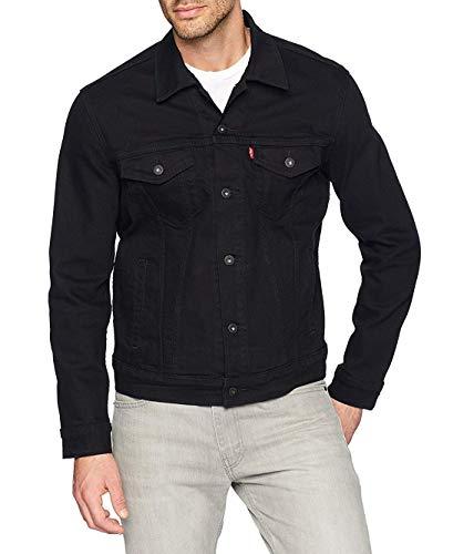 Levi's Men's Trucker Jacket Outerwear, -larimar/black/stretch, XS