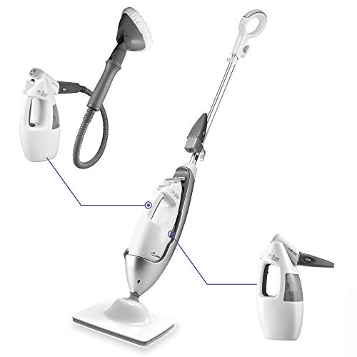 LIGHT 'N' EASY Multi-Functional steam mop Steamer for Cleaning...
