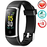 Fitness Tracker With Blood Pressure HR Monitor - 2019 Upgraded FITFORT...