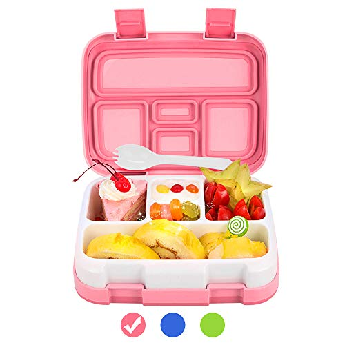 Lunch Box for Kids Bento Box BPA-Free DaCool Upgraded Toddler School...