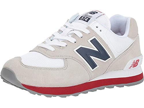 New Balance Men's 574 V2 Classic Sneaker, Nimbus Cloud/Na, 17 W US