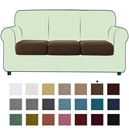CHUN YI Stretch Couch Cushion Cover Replacement, Fitted Loveseat Sofa...