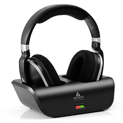 ARTISTE Wireless TV Headphones Over Ear Headsets - Digital Stereo...