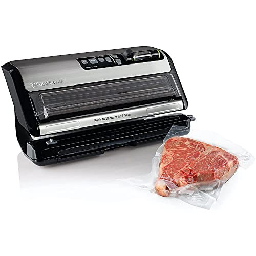 FoodSaver FM5200 2-in-1 Automatic Vacuum Sealer Machine with Express...