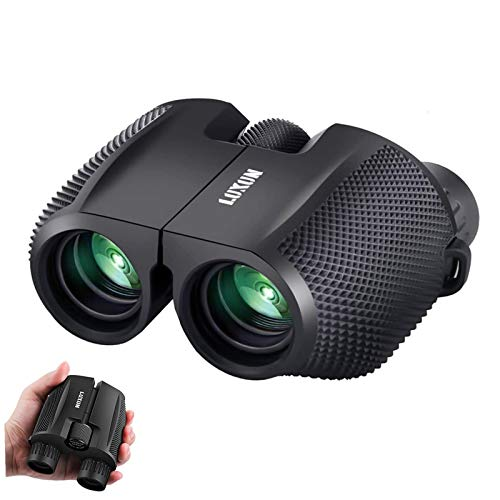 SGODDE Compact Binoculars for Adult Kids 10x25 Waterproof Binocular...