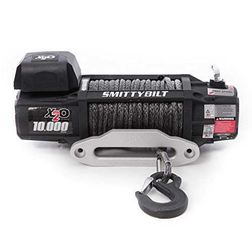 Smittybilt X2O COMP - Waterproof Synthetic Rope Winch - 10,000 lb....