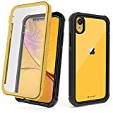 CellEver Compatible with iPhone XR Case, Clear Full Body Military...