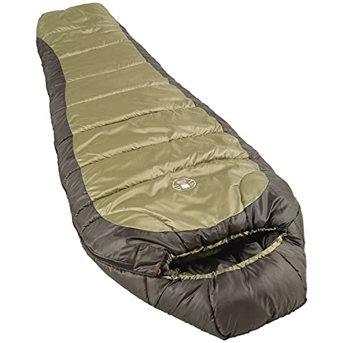 Coleman 0°F Mummy Sleeping Bag for Big and Tall Adults | for North...