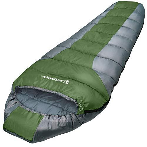 Bessport Sleeping Bag 3 Season Mummy Sleeping Bag Water Repellent...