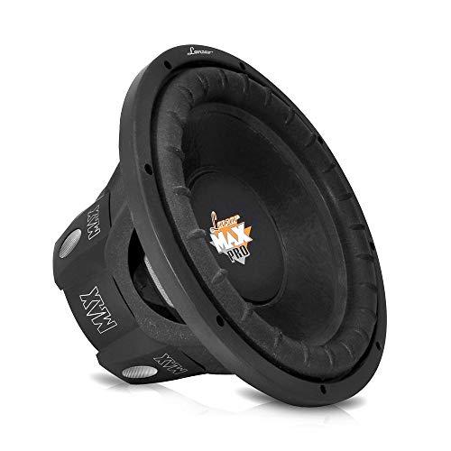 Lanzar 8 inch Car Subwoofer Speaker - Black Non-Pressed Paper Cone,...