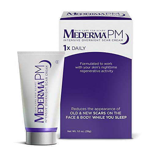 Mederma PM Intensive Overnight Scar Cream - Works with Skin's...
