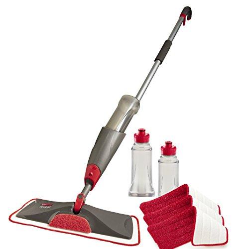 Rubbermaid Reveal Spray Mop Floor Cleaning Kit, Bundles: 1 Mop, 3...