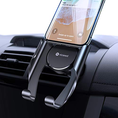 VICSEED Car Phone Mount, Air Vent Phone Holder for Car, Handsfree Cell...