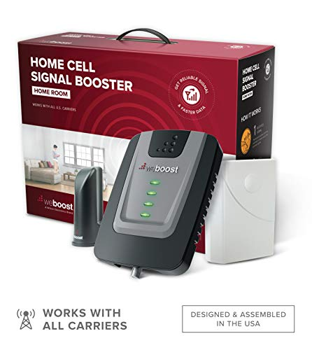 weBoost Home Room (472120) Cell Phone Signal Booster Kit | Up to 1,500...