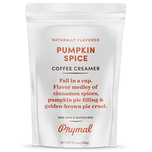 PRYMAL Pumpkin Spice Coffee Creamer - Keto, Non Dairy, Sugar Free -...
