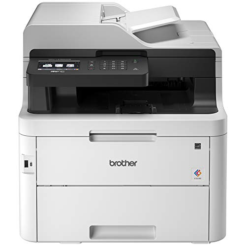 Brother MFC-L3750CDW Digital Color All-in-One Printer, Laser Printer...