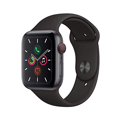 Apple Watch Series 5 (GPS + Cellular, 40MM) - Space Gray Aluminum Case...