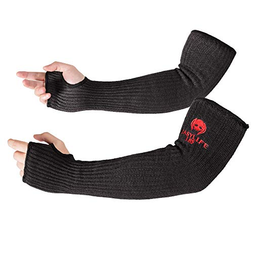 Kevlar-Sleeves Arm Protection Sleeves with Thumb Hole, MOKEYDOU [18'...