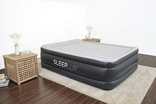 SleepLux Queen Air Mattress with Built-in AC Pump | 22' Raised...