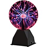 Katzco Plasma Ball - 7 Inch - Nebula, Thunder Lightning, Plug-in - for...