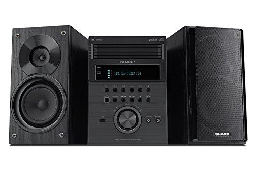 Sharp XL-BH250 Sharp 5-Disc Micro Shelf Executive Speaker System with...